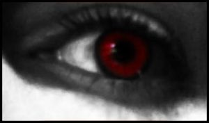 My eye in Red by theIwitcher