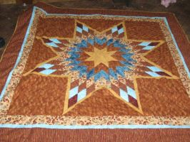 lone star quilt by Stitchwich
