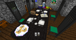 Minecraft modded- My Dining Room View 3 by shadowolf1004