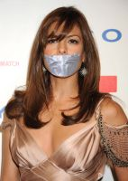 Eva Mendes Gagged by ikell