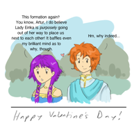 Valentine's Day, sort of joke by TinSil