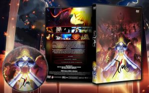 Fate Zero DVD Cover (with Label) by phantomivee