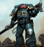 UltraMarines by FonteArt