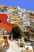 Santorini  Oia 2 by CitizenFresh