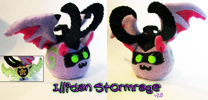 World of Pugglecraft - Illidan 2.0 by callykarishokka