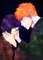 Don't cry Rukia Colored by duongvjp by rukichigo