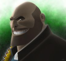 Team Fortress 2: Heavy by jRace
