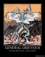 General Grievous Poster by Sinncrow