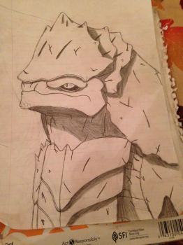 Krogan by Arbiterninja