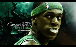 Rajon Rondo Signature by CamperDesigns