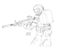 ODST with dmr by bluelightt