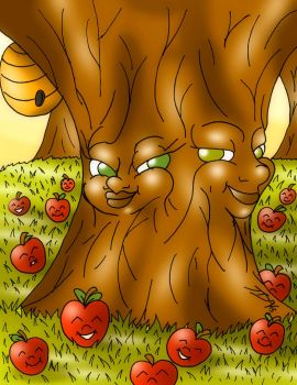 Apple Tree of Life by DocMaddox