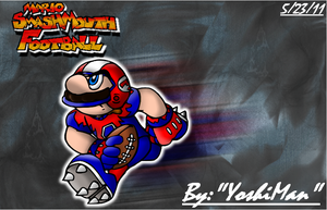 Mario Smash Mouth Football by YoshiMan1118