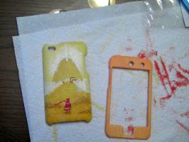 Journey Ipod touch cases! WIP by Jacobi-biscuit