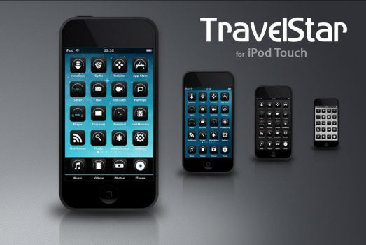 Travelstar for iPod Touch by RadialBeamz
