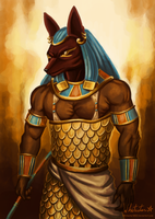 Anubis by Whitestar1802