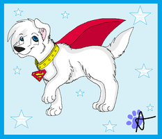Krypto the Superdog by AJ-Shep