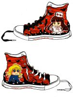 Hellsing : Shoes by Menidyen