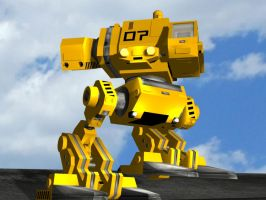 Cyberbot - AOI 3D Model by Baron-Kettell