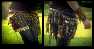 Hand Made Belt Pack! by Wood-Splitter-Lee