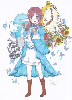 Special Commission:cute Lolita 1 by Choulaphone