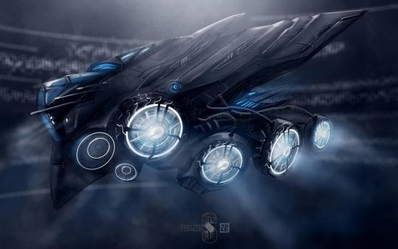 Project S: gunship by novaillusion