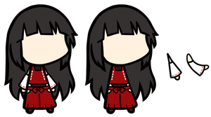 Hakurei Miko Custom Walfas by Mr-Wang