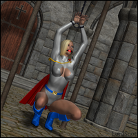 My Powergirl Slave 03 by LordSnot