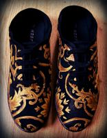 baroque shoes by zuzyah