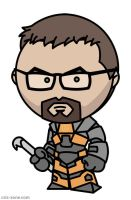 Half Life - Gordon Freeman by criz