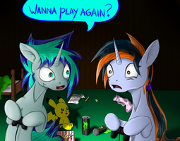 A gaming night with KlaLasKaxD by Masdragonflare