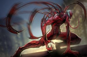 carnage tentacles by rasengan27