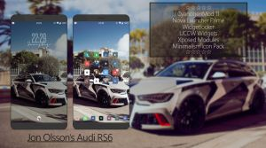 Minimal Audi RS6 Android Homescreen by fuckyeahlucas