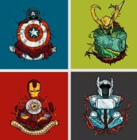 The Avengers by Wangyuxi