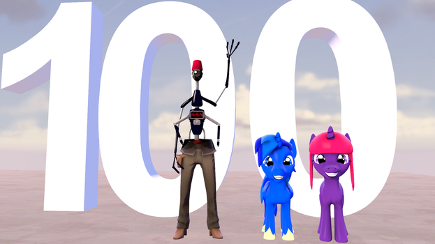 100 Watchers by Xboxking37