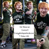 Ed Sheeran Concert by CrazyPhotopacks