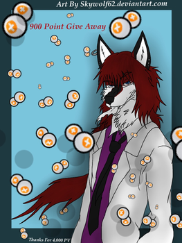 Alex Wolf: 900 Point GiveAway (CLOSED) by Chibi-Cola-SkyWolf62