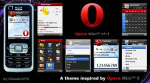 Opera Mini V1.2 by ChandraV76