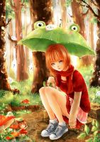 After the rain by cherriuki