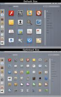 Optimised GNOME Shell Theme by half-left