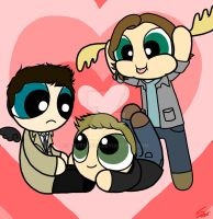 Powerpuff Supernatural by loves2die4
