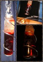 Blood Vial by Adreanna