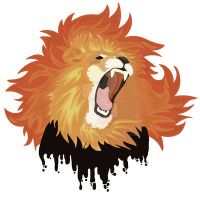 Fire Lion Logo by Nortiker
