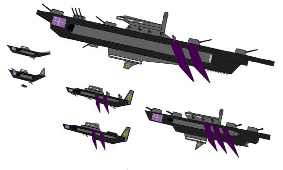 Airships 2-D Design by MiniTV