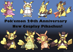 Concepts of Cosplay Pikachu by Phatmon
