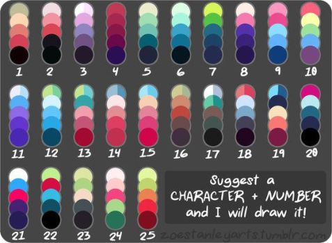I am SO using all of these for adopts! by MintyMagic74