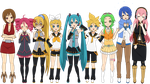 Vocaloid (AND UTAU) Kisekae + Exports! by G-U-R-O