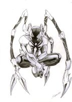 iron spiderman by spawner1AndOnly