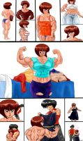 Comic:Muscle Ranma part 2 by NeroScottKennedy