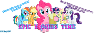 Epic Bronies Time Banner by Magomoon